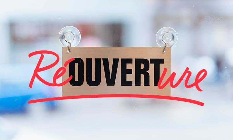 réouverture restaurant suite covid-19 (coronavirus)